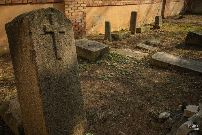 Старинное кладбище в Витебске