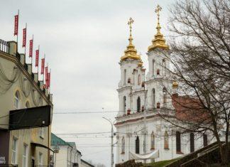 Воскресенская церковь в центре Витебска