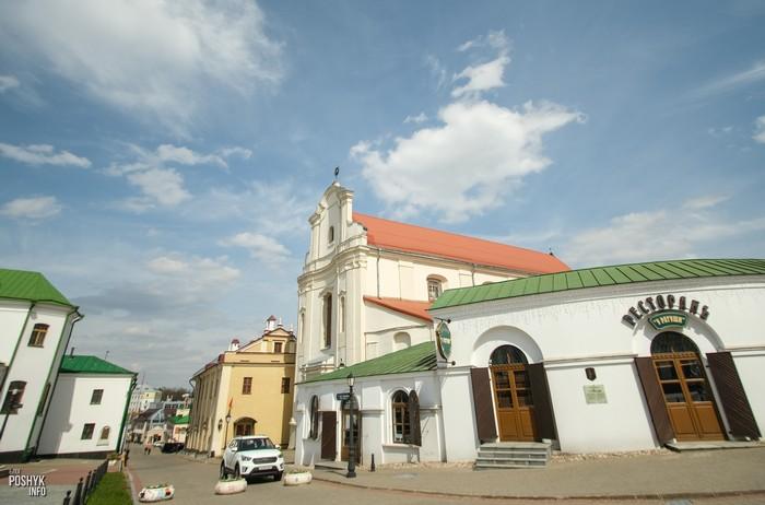 Бывший монастырь бернардинцев в Минске