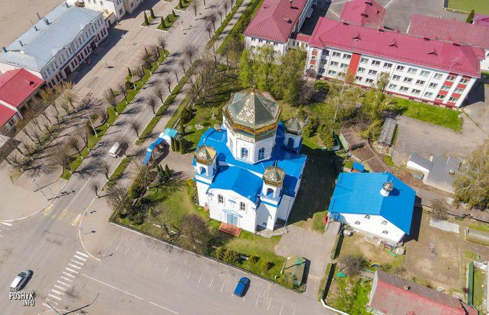 церковь Спасо-Преображенская в Шклове