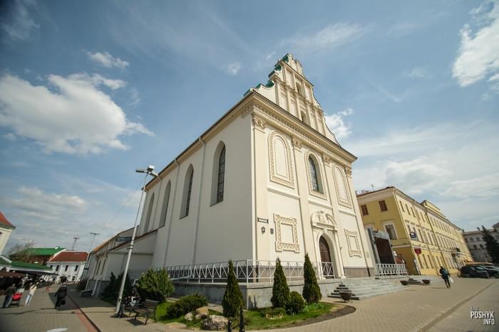 Церковь святого духа и детская филармония в Минске