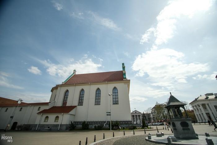 Где находился Петропавловский собор в Минске