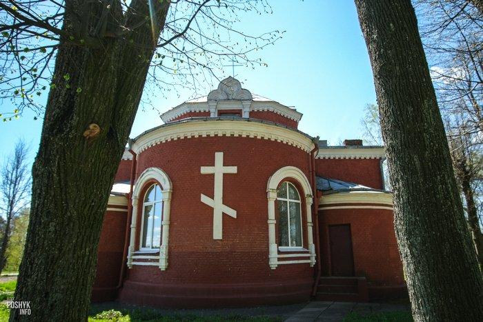 Интересная церковь в деревне Старое Высокое