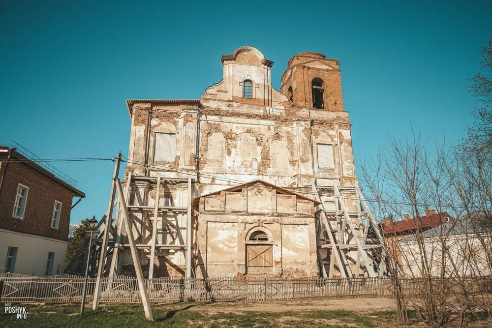 Костел монастырь иезуитов в Мстиславле