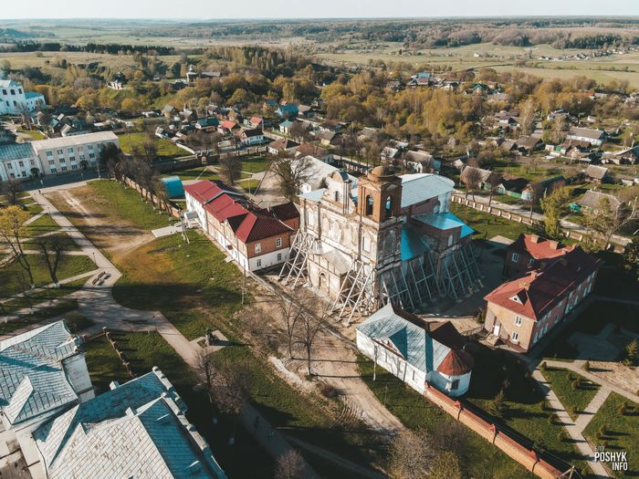 Костел в городе Мстиславль