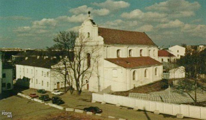 Костел святого Иосифа в Верхнем городе Минска