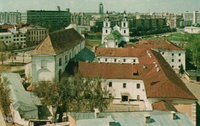 Бывший костел в Верхнем городе Минска