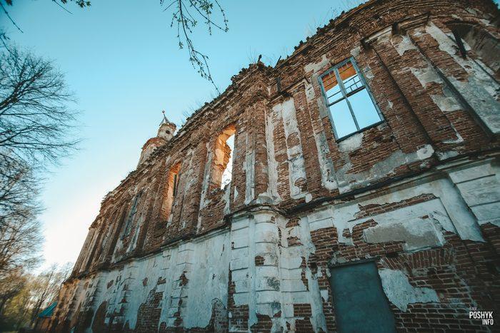 Монастырь в деревне Онуфриево