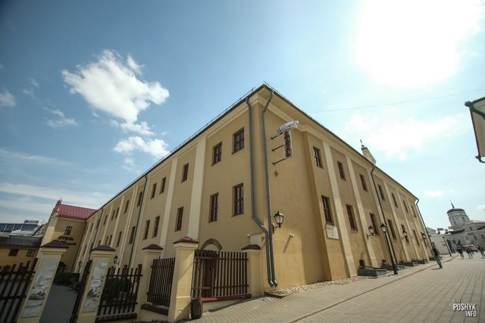 Отель в бывшем монастре бернардинцев