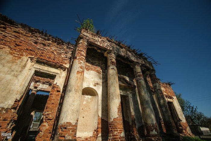 Рясно костел в Могилевской области