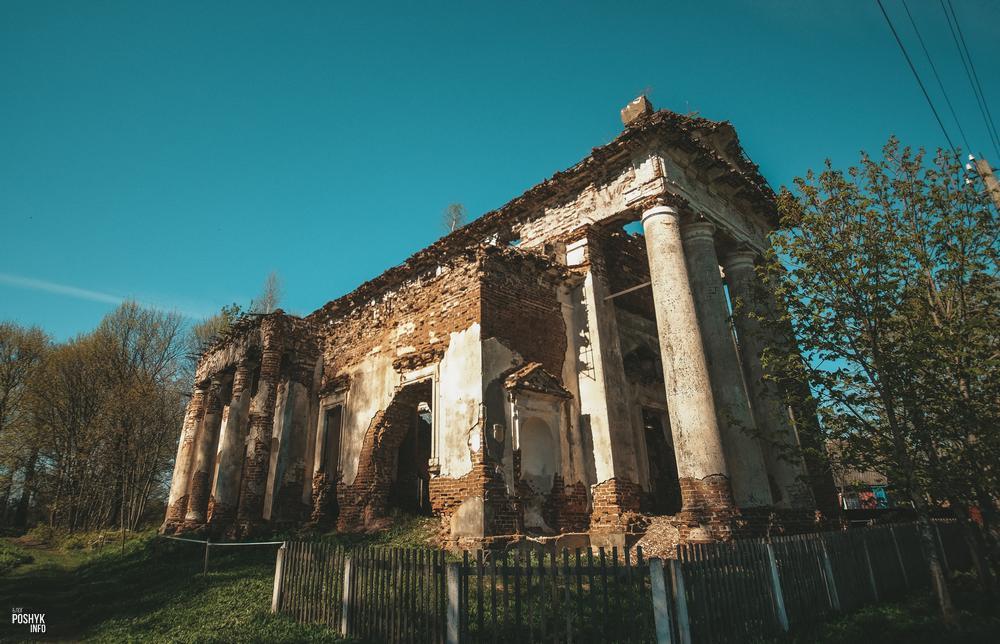 Костел святого Казимира в агрогородке Рясно