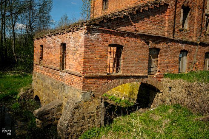 Руины мельницы Друцк