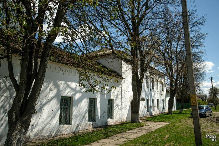 Бывшая синагога в Шклове