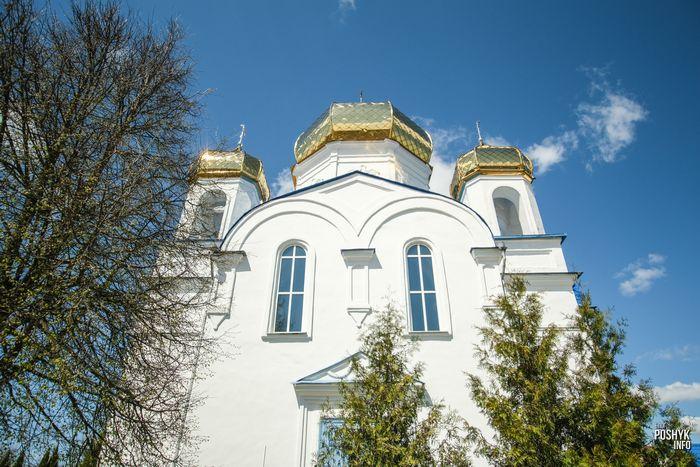 Спасо-Преображенская церковь в Шклове