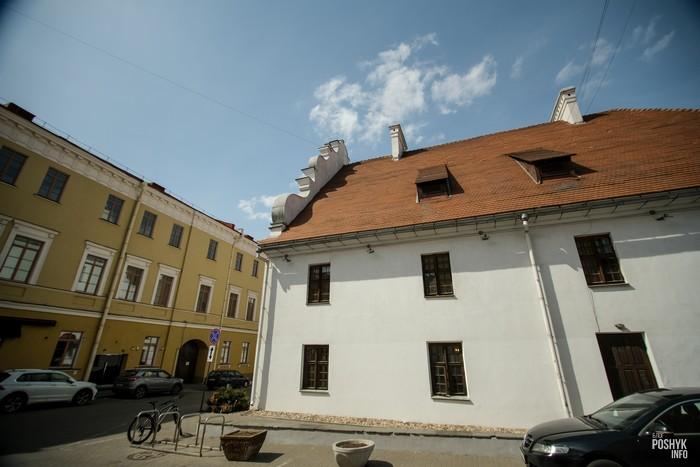 Одно из старейших зданий Минска