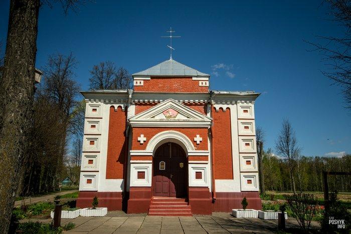 Церковь в деревне Старое Высокое