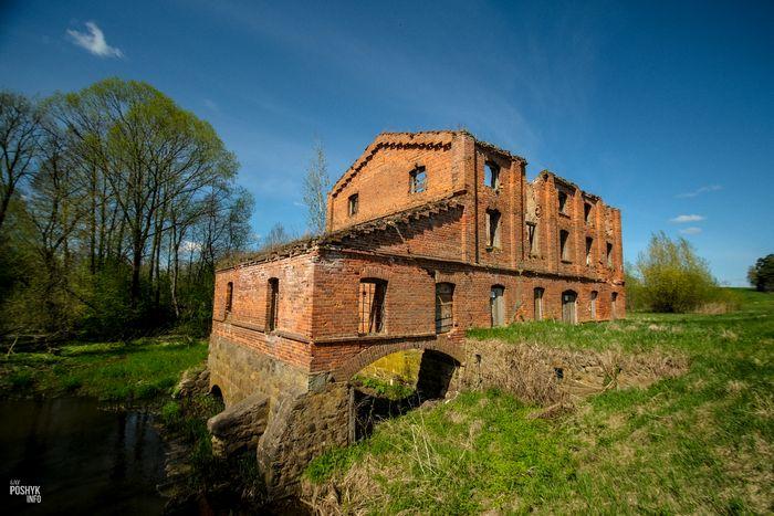 Водянная мельница рядом с Друцком