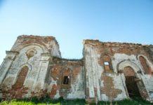 Руины заброшенной церкви Колтово, Могилевская область