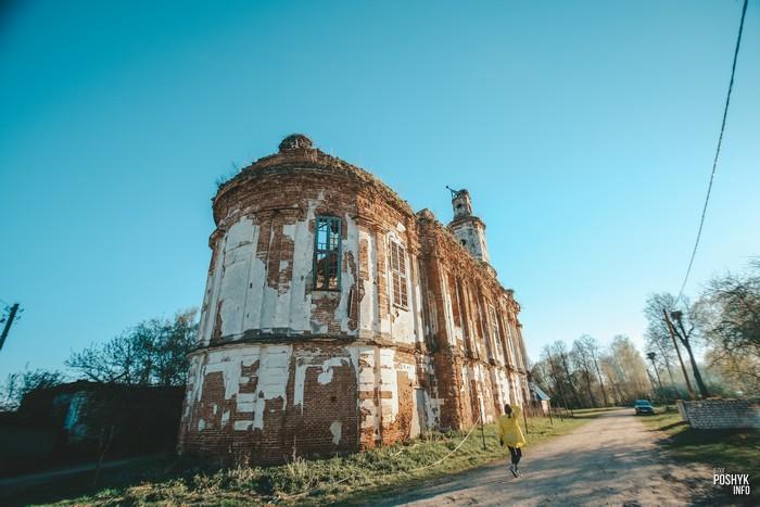 Руины церкви Онуфриево