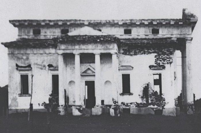 Старое фото костел в Рясно
