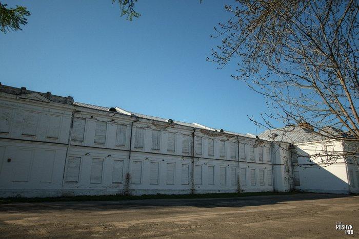 Заброшенное здание в Мстиславле