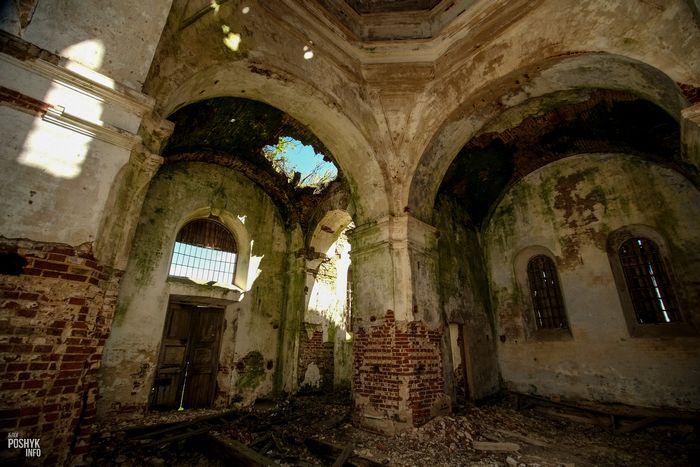 Заброшенные храмы