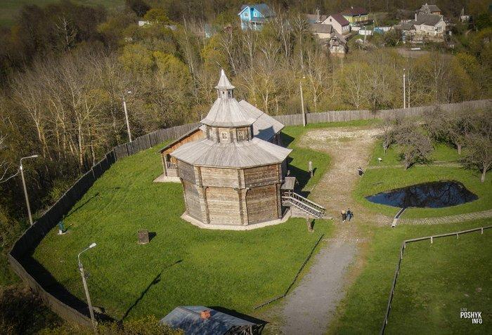Башня донжон в Мстиславле