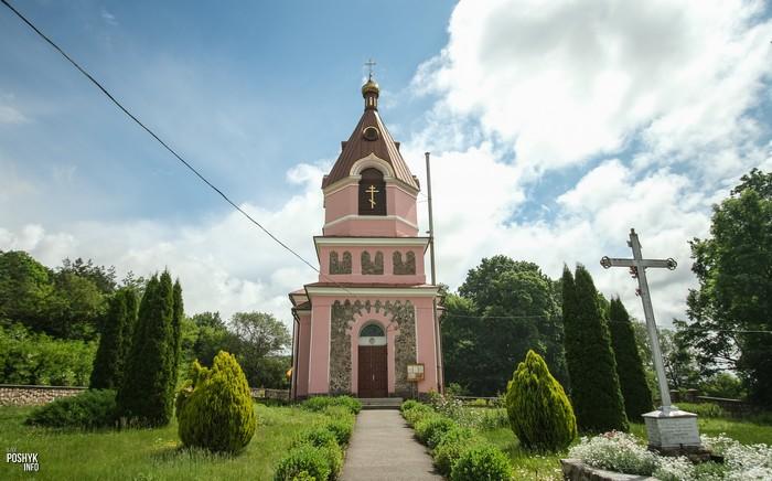 Церковь в деревне Малая Берестовица