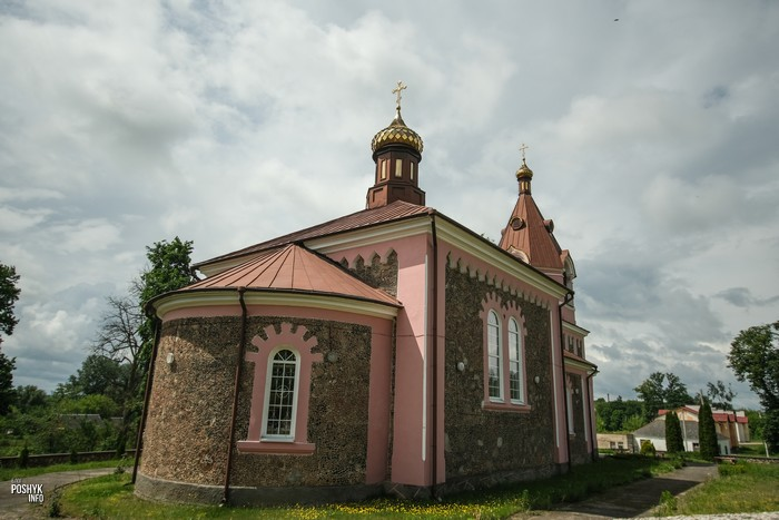 Церковь святого Дмитрия Солунского Малая Берестовица