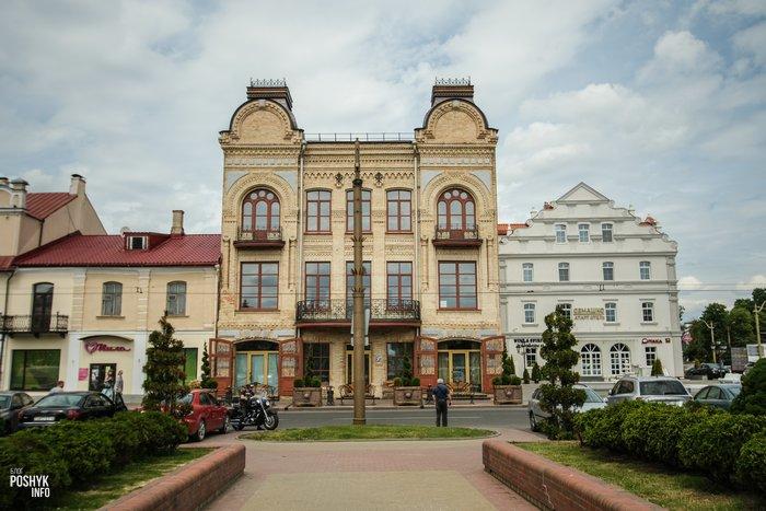 Дом купца Муравьева в Гродно Советская 2
