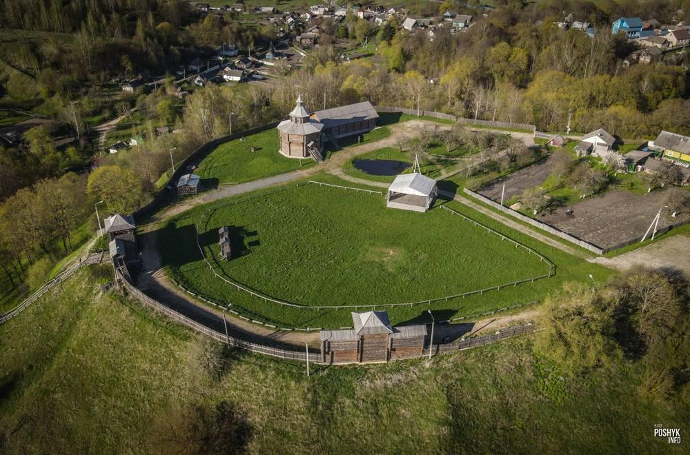 Замковая гора в Мстиславле