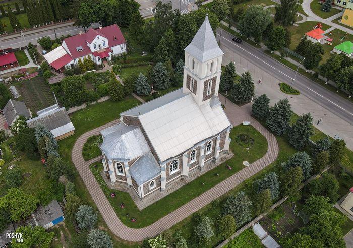 Храм в деревне Большая Берестовица