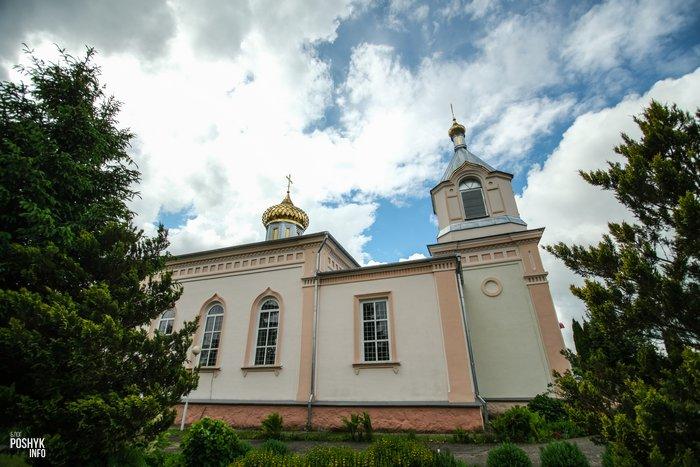 Церковь Александра Невского в поселке Индура
