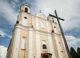 Костел Иоанна Крестителя в деревне Василишки