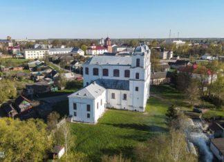 Кармелитский костел Девы Марии в городе Мстиславль