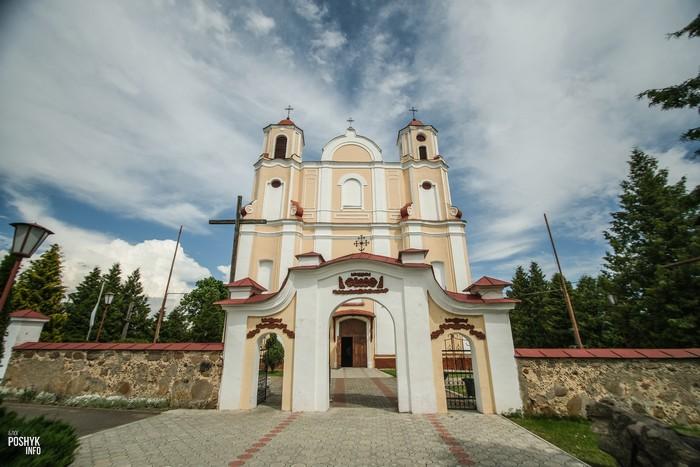 Красивые костелы Беларуси Василишки