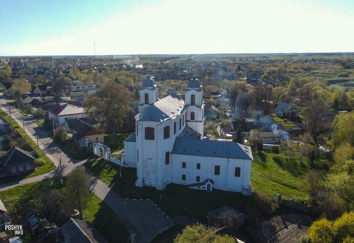 Монастырь и костел в Мстиславле
