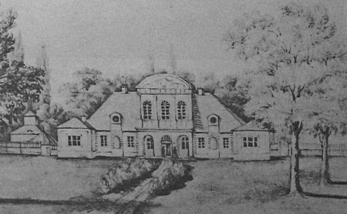 Усадьба Августово в Гродно как выглядела