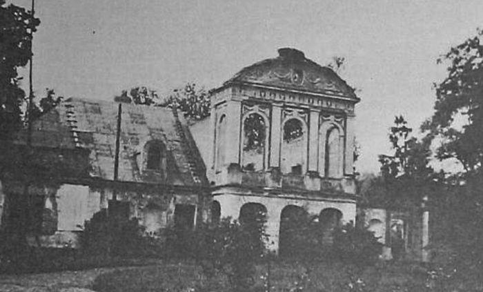 Усадьба Августово в Гродно старое фото