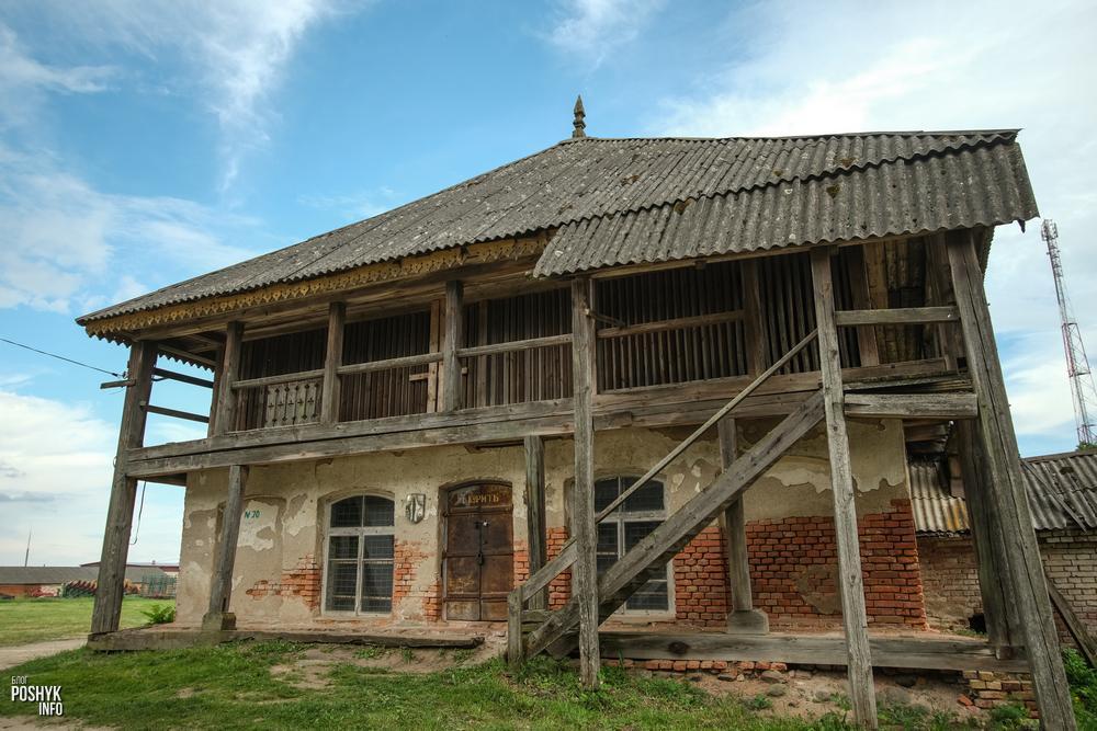 Усадьба Ходкевичей в деревне Большое Можейково