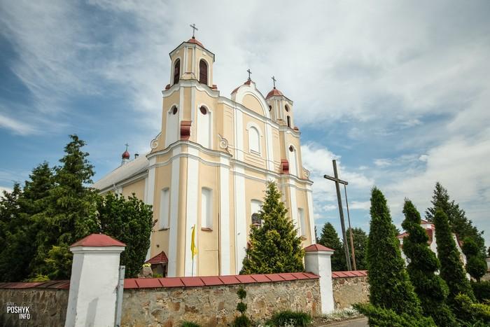 Костел в Василишках Гродненская область