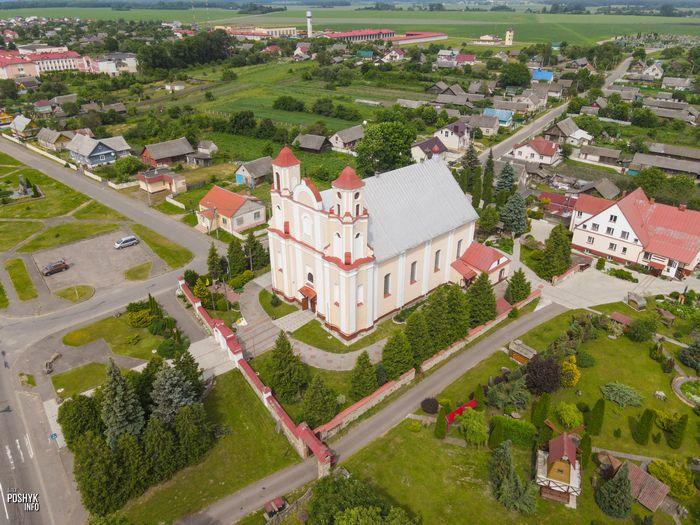Костел в деревне Василишки