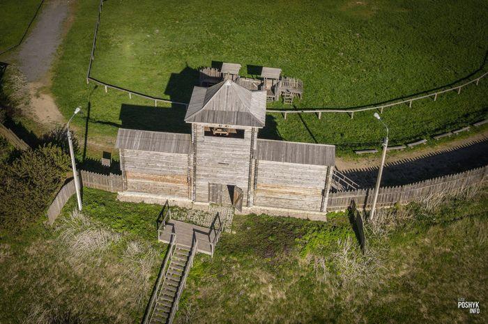 Замок в городе в Мстиславль