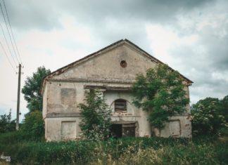 Имение Грайно - заброшенный амбар и часть усадьбы Ляхницких