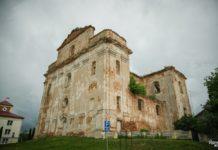 Руины костела в городском поселке Большая Берестовица
