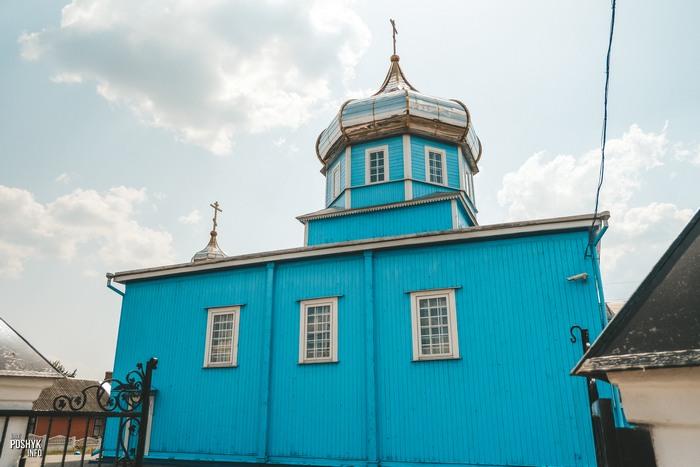 Деревянная церковь в Кобрине