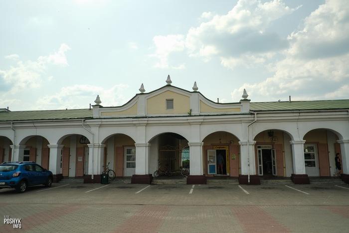 Торговые ряды в городе Пружаны