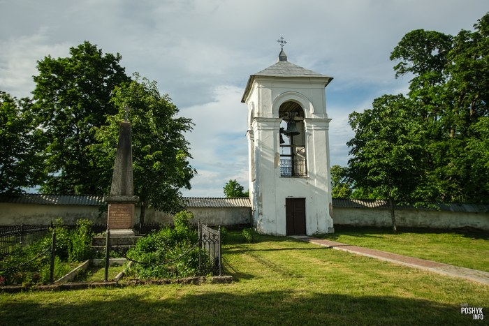 Колокольня Ищельно Гродненская область