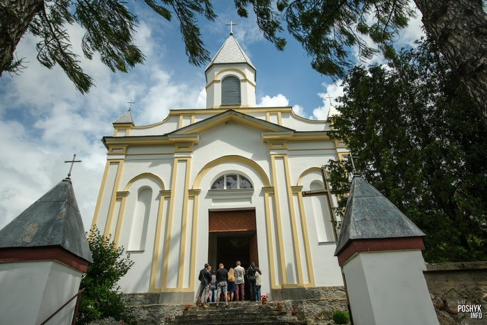 Костел в Малой Берестовице