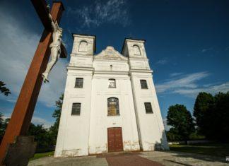 Троицкий костел в деревне Ищелно